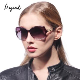 【MEGASOL】寶麗萊UV400偏光太陽眼鏡(米蘭Dior設計師款-MSA-1517)