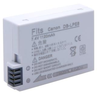 【Kamera】鋰電池(for Canon LP-E8 / LPE8)
