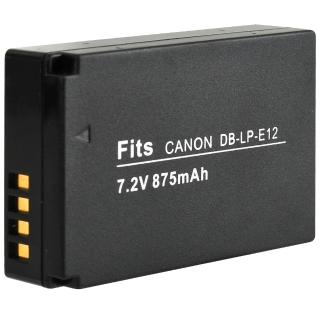 【Kamera】鋰電池(for Canon LP-E12 / LPE12)