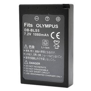 【Kamera】鋰電池(for Olympus BLS-5)