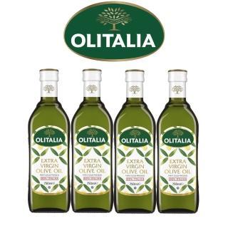 【Olitalia奧利塔】特級冷壓橄欖油750mlx4瓶(雙入禮盒組)