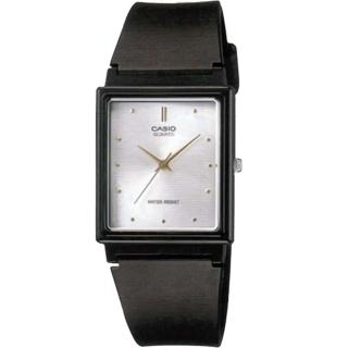 【CASIO 卡西歐】簡約方型時尚設計腕錶-白(MQ-38-7ADF)