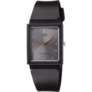 【CASIO 卡西歐】簡約方型時尚設計腕錶-灰(MQ-38-8ADF)