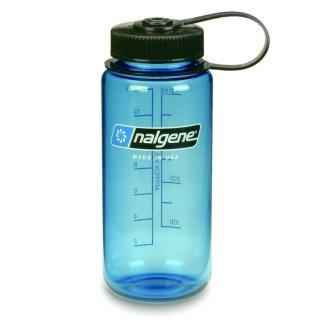 【Nalgene】寬嘴水壼500cc(灰藍色)
