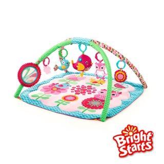 【Kids II】Bright Starts 粉紅快樂小鳥遊戲墊