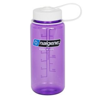 【Nalgene】寬嘴水壼500cc(紫色)