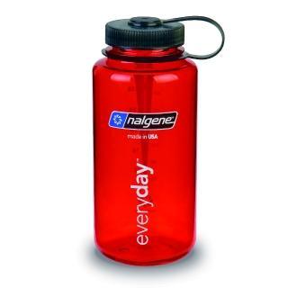 【Nalgene】寬嘴水壼1000cc(紅色)