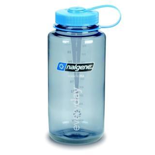 【Nalgene】寬嘴水壼1000cc(煙霧灰)