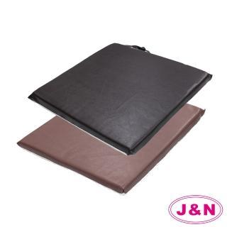 【J&N】凡帝瓦仿皮餐椅墊(2入)