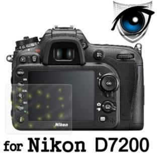 【D&A】Nikon D7200 日本原膜增豔螢幕貼(9H防藍光疏油疏水型)