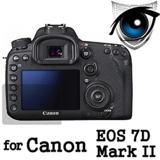 【D&A】Canon EOS 7D Mark II 日本原膜增豔螢幕貼(9H濾藍光疏油疏水型)