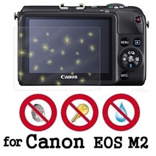 【D&A】Canon EOS M2 日本原膜螢幕貼(NEW AS玻璃奈米型)