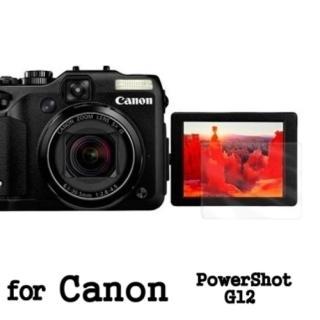 【D&A】Canon PowerShot G12 日本原膜HC螢幕保護貼(鏡面抗刮)