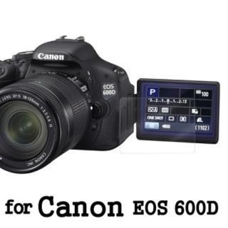【D&A】Canon EOS 600D 日本原膜AS螢幕保護貼(AS高密疏油疏水型)