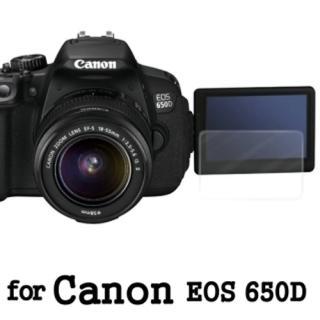 【D&A】Canon EOS 650D 日本原膜HC螢幕保護貼(鏡面抗刮)