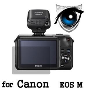 【D&A】Canon EOS M 日本原膜增豔螢幕貼(9H濾藍光疏油疏水型)