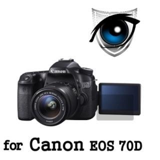 【D&A】Canon EOS 70D 日本原膜增豔螢幕貼(9H濾藍光疏油疏水型)