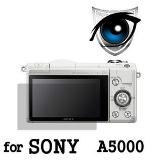 【D&A】Sony A5000 日本原膜增豔螢幕貼(9H濾藍光疏油疏水型)