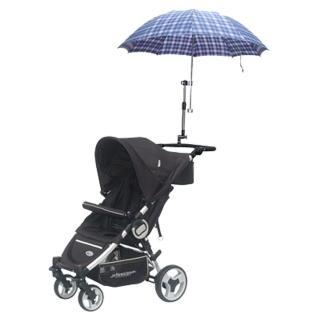 嬰兒推車專用遮陽傘架(黑色)