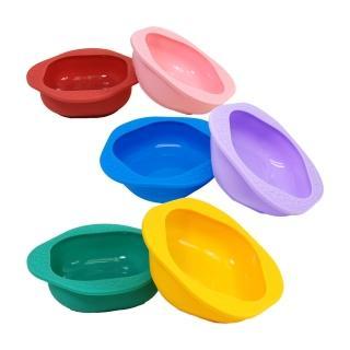 【MARCUS&MARCUS】動物樂園矽膠兒童餐碗2入組