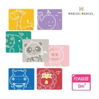【MARCUS&MARCUS】動物樂園矽膠餐墊