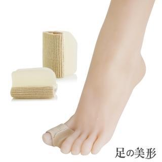 【足的美形】纖維矽膠腳指分趾墊(2雙)