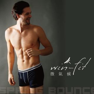 【SANTO】win-fit微氣候機能內褲(黑色)