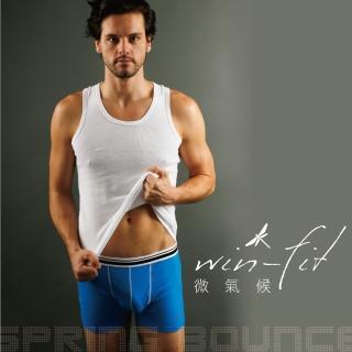 【SANTO】win-fit微氣候機能內褲(藍色)