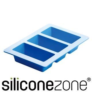 【Siliconezone】施理康耐熱矽膠3格條型蛋糕模(CM-05188-AZ)