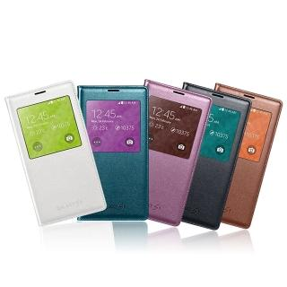 【SAMSUNG】台灣 三星 SAMSUNG S5 S-View 原廠 皮套 保護套(贈保護貼)
