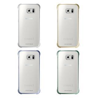 【SAMSUNG】GALAXY S6 edge 原廠輕薄防護背蓋(贈S6 Edge全幅保護貼)