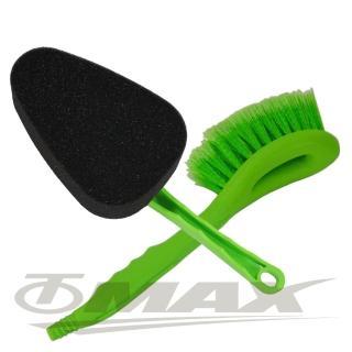 強效洗車刷+海綿清潔洗車刷