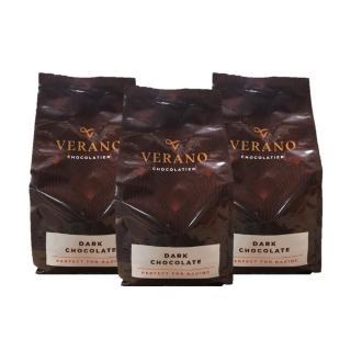 【GCB】63%調溫苦甜鈕扣巧克力_1kg(麵包蛋糕西點烘焙專用)