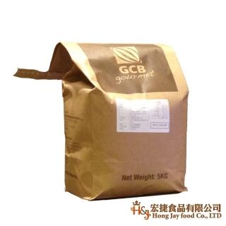 【GCB】深黑苦甜水滴巧克力_5kg(麵包蛋糕烘焙專用)