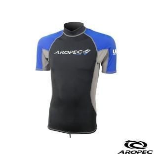 【AROPEC】Myth 神話男款短袖防曬衣(藍)