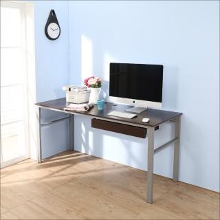 【BuyJM】低甲醛防潑水160公分單抽屜穩重型工作桌