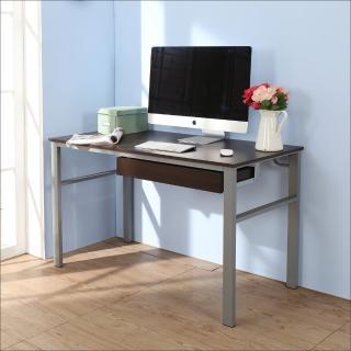 【BuyJM】低甲醛防潑水120公分單抽屜穩重型工作桌