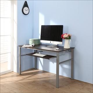 【BuyJM】低甲醛防潑水120公分單鍵盤穩重型電腦桌
