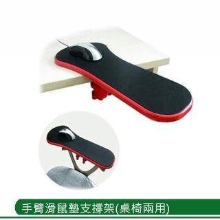 手臂滑鼠墊支撐架(桌椅兩用)