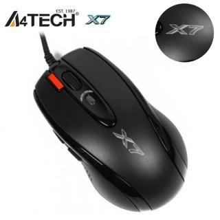 【A4  雙飛燕】X-718BK 火力王 奧斯卡全速遊戲滑鼠