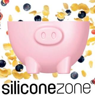 【Siliconezone】施理康耐熱粉紅小豬造型烤杯兩入