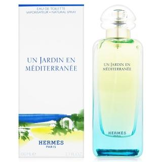 【Hermes愛馬仕】地中海花園中性淡香水 100ml