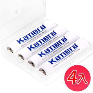 【Kamera】4號 低自放充電電池(4入)