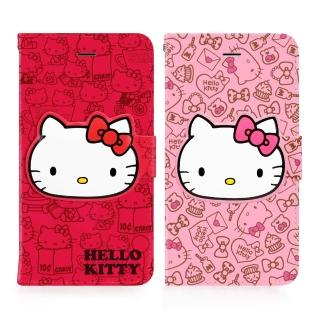 【GOMO】Hello Kitty iPhone 6/6S 4.7吋(可立式摺疊皮套)
