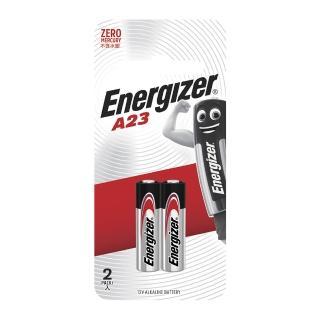 【Energizer勁量】A23-12V汽車遙控器電池(2入)