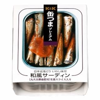 【K&K】和風沙丁魚(105g)
