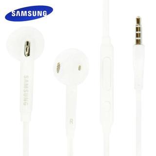 【Samsung】S6 線控扁線 原廠耳機(白)