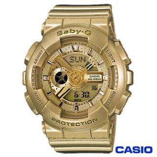 【CASIO卡西歐】Baby-G超人氣閃亮耀眼風格運動雙顯錶(BA-111-9A)