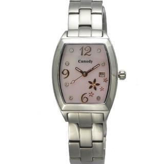 【Canody】櫻花之戀 粉紅錶盤時尚腕錶(24mm/CB5649-1D)