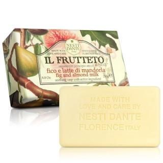 【Nesti Dante  義大利手工皂】天然鮮果系列(無花果和杏仁 潤澤-250g)